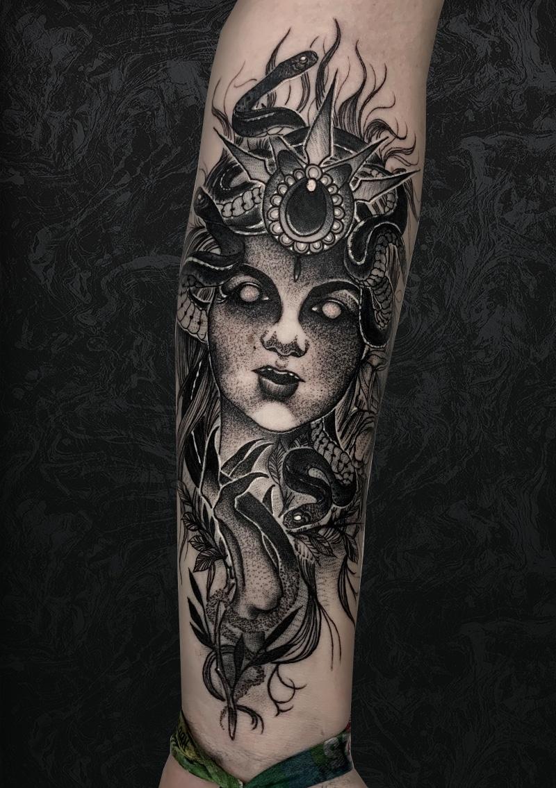 Voodoo Queen Tattoo