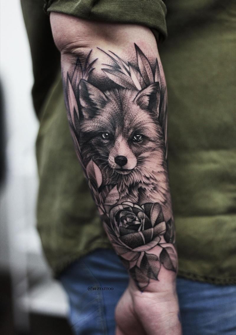 Fox Arm Tattoo